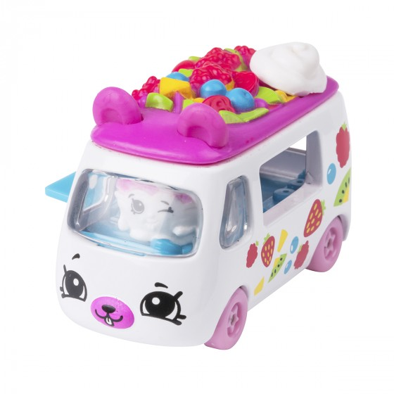 Мини-машинка SHOPKINS CUTIE CARS S3 - ФРУКТОВЫЙ РЕЙСЕР