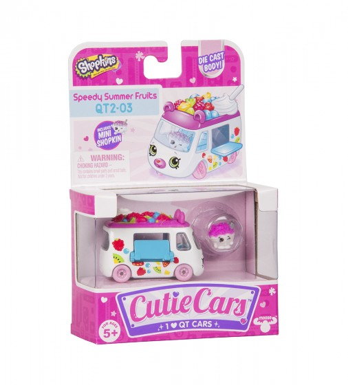 Мини-машинка SHOPKINS CUTIE CARS S3 - ФРУКТОВЫЙ РЕЙСЕР - 56771_5.jpg - № 5