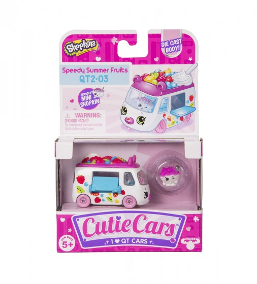 Мини-машинка SHOPKINS CUTIE CARS S3 - ФРУКТОВЫЙ РЕЙСЕР - 56771_4.jpg - № 4