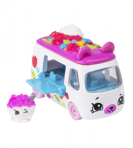 Мини-машинка SHOPKINS CUTIE CARS S3 - ФРУКТОВЫЙ РЕЙСЕР - 56771_1.jpg - № 1