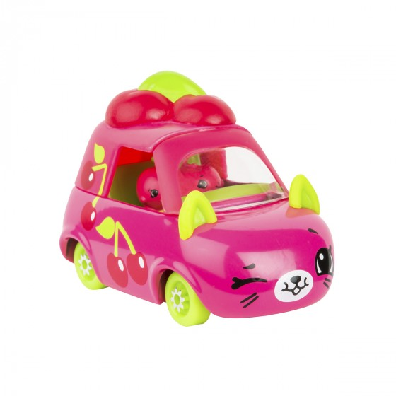 Мини-машинка SHOPKINS CUTIE CARS S3 -ВИШНЕВЫЙ ВЕН