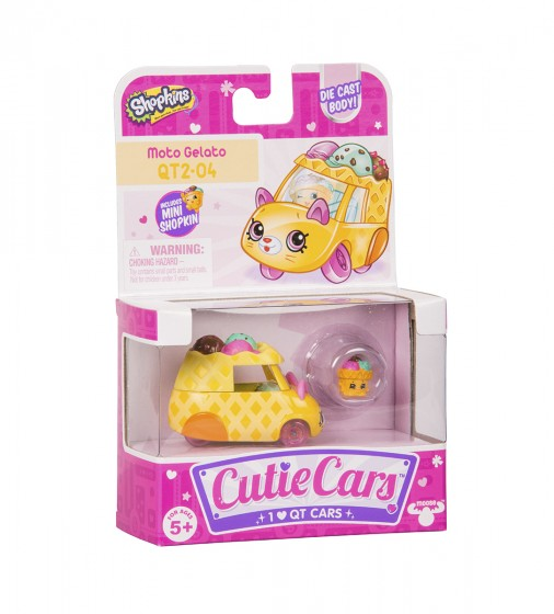 Міні-машинка SHOPKINS CUTIE CARS S3 -РОЖОК-СНІЖОК - 56736_5.jpg - № 5