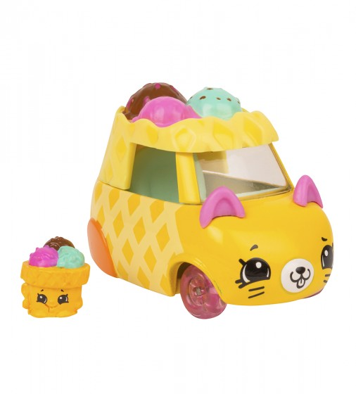 Міні-машинка SHOPKINS CUTIE CARS S3 -РОЖОК-СНІЖОК - 56736_1.jpg - № 1