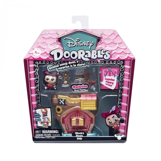 Игровой набор DISNEY DOORABLES -ПИТЕР ПЭН