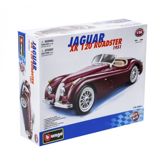 Авто-конструктор - JAGUAR XK 120 ROADSTER (1948) (1:24)