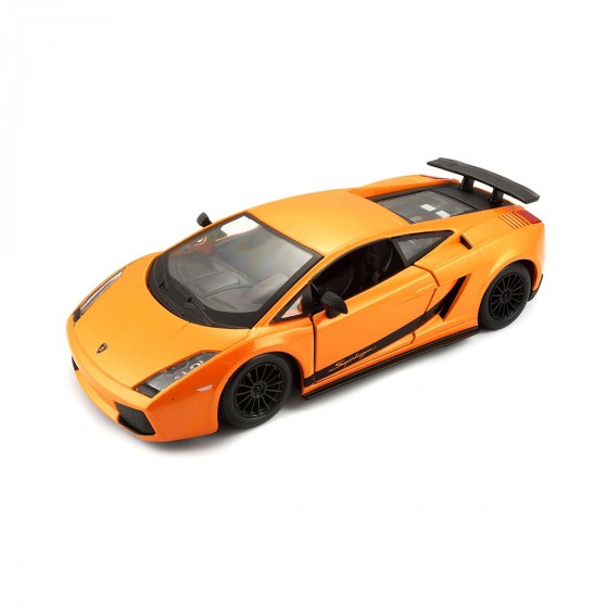 Авто-конструктор - LAMBORGHINI GALLARDO SUPERLEGERRA 2007 (1:24)