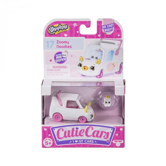 Мини-машинка SHOPKINS CUTIE CARS S1 - МАШИНКА-ЛАПШИНКА